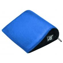 Подушка для любви Liberator Retail Jaz голубая замша
