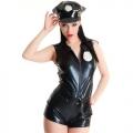 Сексуальный комбинезон полицейской с фуражкой