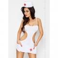Сексуальный костюм медсестры Akkie L/XL