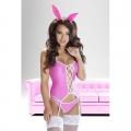 Розовый костюм зайчика Isha S/M