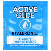 Увлажняющий интимный гель Active Glide Hyaluronic 3 гр, пробник