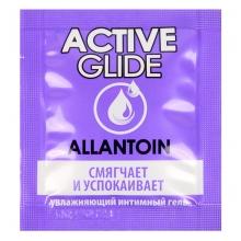 Увлажняющий гипоаллергенный интимный гель Active Glide Allantoin 3 гр, пробник