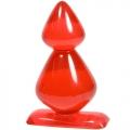 Анальная пробка Gum Drops Double Bubble Red