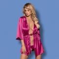 Розовый пеньюар Satinia L/XL