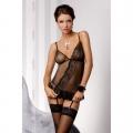 Черная сорочка Estera S/M