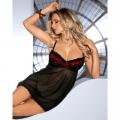 Черная сорочка Oriana S/M
