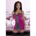 Нежная розовая сорочка Kimi L/XL