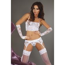 Белый сексуальный комплект Modesta S/M