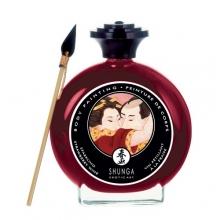 Декоративная крем-краска для тела Клубника с шампанским Shunga 100 мл