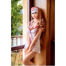Сексуальная, реалистичная кукла Mimi,с металлическим скелетом 168 см