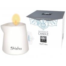 Массажная аромасвеча Shiatsu с ароматом амбры 130 гр