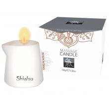 Массажная аромасвеча Shiatsu с ароматом сандала 130 гр
