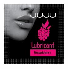 Съедобный лубрикант Juju cо вкусом малины 3 мл, пробник