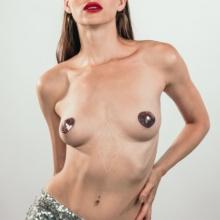 Пэстисы-сердечки Burlesque Rand розовые
