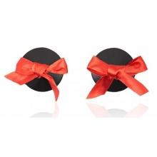 Пэстисы черные с красными бантиками