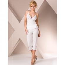Ночная пижама белого цвета L