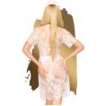 Кружевное белое мини-платье со стрингами Penthouse Poison Cookie M/L