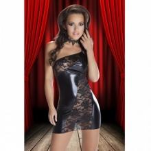 Интригующее черное платье Sila L/XL