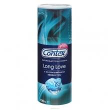 Гель-смазка Contex Long Love с охлаждающим эффектом 100 мл