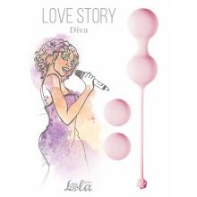Набор вагинальных шариков Love Story Diva Tea Rose