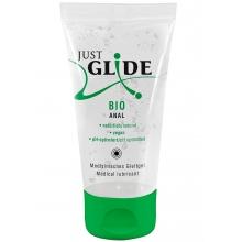 Органическая анальная смазка JustGlide Bio Anal на водной основе 50 мл